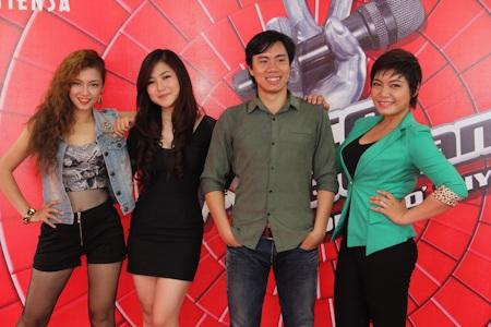 Các thí sinh The Voice mùa thứ nhất