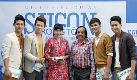 Đại diện của Nhà văn hoá Thanh Niên cũng góp mặt trong buổi ra mắt dự án