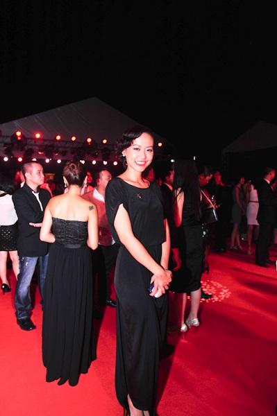 Hồng Ánh đẹp mặn mà trên thảm đỏ