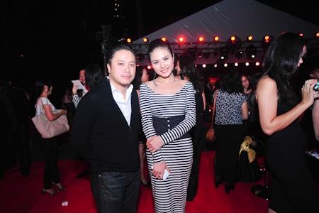 Victor Vũ và diễn viên Vân Trang