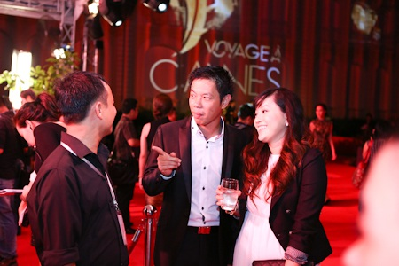 Thái Hoà vẫn thường dẫn vợ theo mỗi khi tham gia các sự kiện