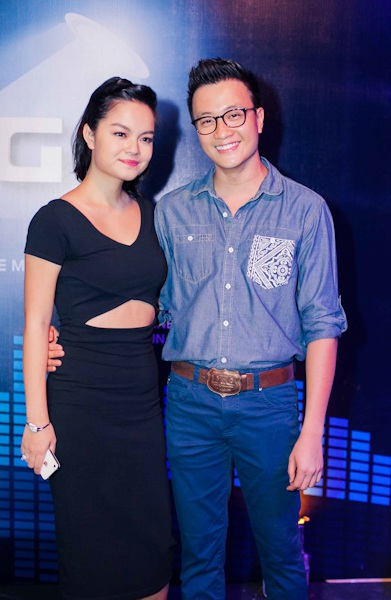 Lương Mạnh Hải và Phạm Quỳnh Anh