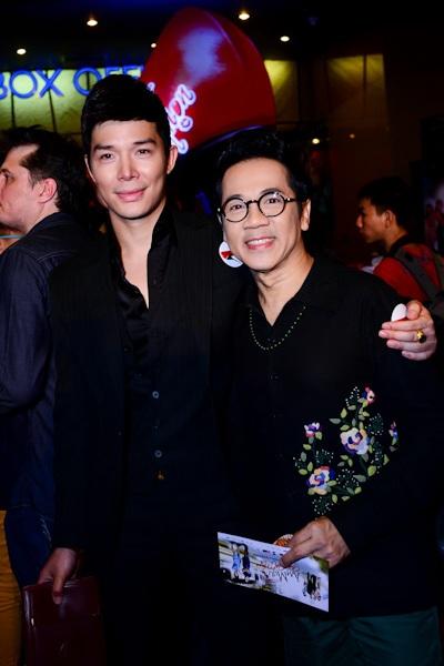 Nathan Lee và Thành Lộc đi ra mắt phim