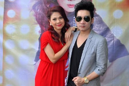 Thanh Thảo và người bạn thân Quang Hà
