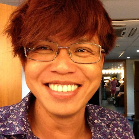 Khi có tóc, Vũ Ngọc Đãng cũng khá đẹp trai
