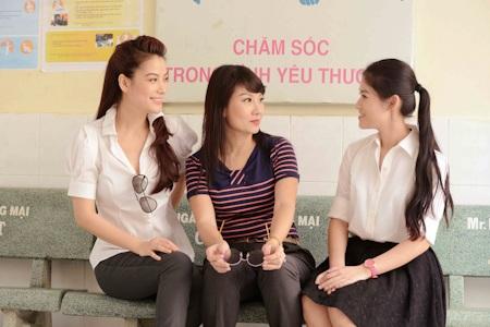 Trương Ngọc Ánh và Mỹ Uyên chia sẻ kinh nghiệm diễn xuất với đàn em