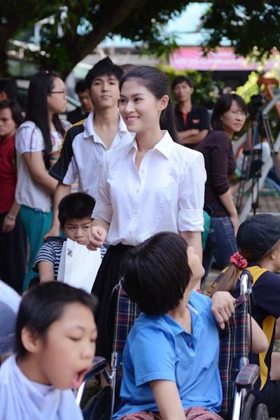 Diễn viên trẻ Ngọc Thanh Tâm