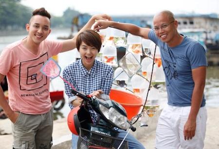 Vũ Ngọc Đãng hài lòng với diễn xuất của Minh Hằng và La Quốc Hùng