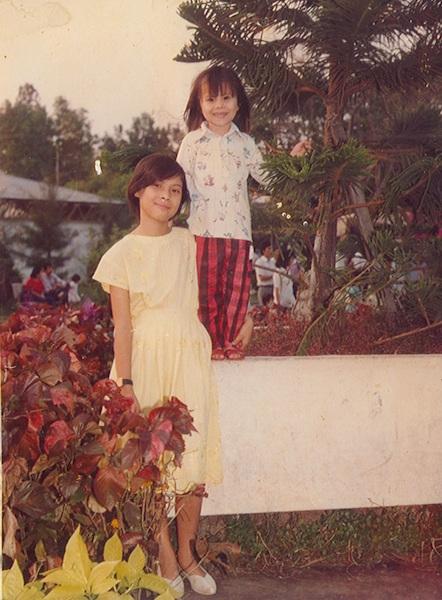 Thanh Thảo và em gái