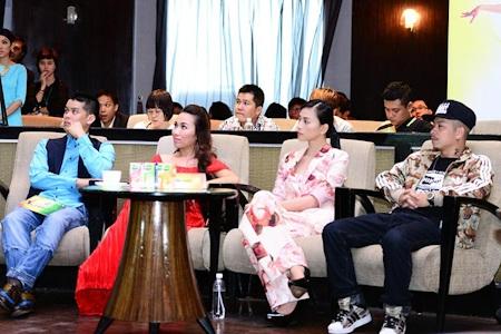 Các vị giám khảo của cuộc thi