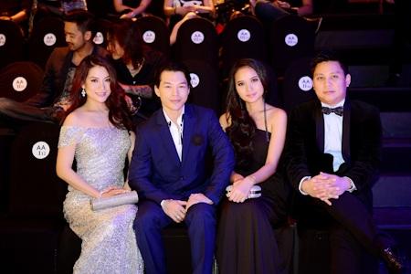 Vợ chồng Trương Ngọc Ánh, Trần Bảo Sơn, Phan Như Thảo và doanh nhân Phạm Đình Trung