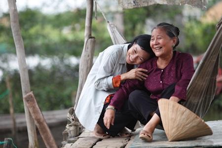 Một số cảnh quay của Phương Thanh trong Vừa đi vừa khóc