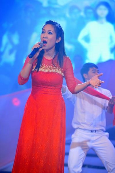 Có thể nói, NSƯT Thanh Thúy với bài hát