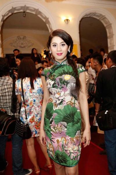 Người đẹp chuyển giới Lâm Chi Khanh