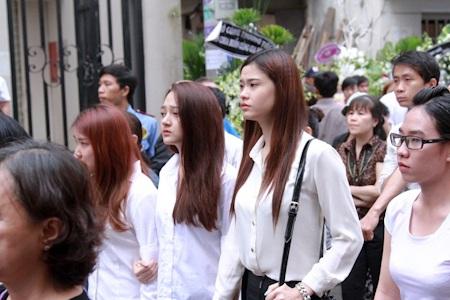 Trương Quỳnh Anh đến từ sớm