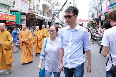 Vợ chồng diễn viên Ốc Thanh Vân