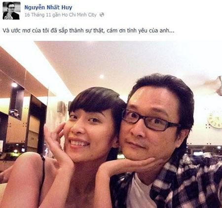 Chia sẻ của Nguyễn Nhất Huy trên trang cá nhân