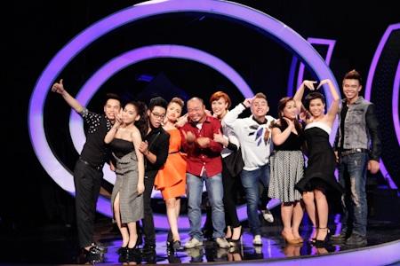 Các thí sinh đã có một đêm thi thành công