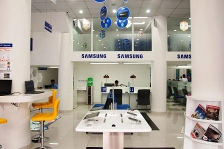Các trung tâm được thiết kế theo chuẩn của Samsung CSP toàn cầu