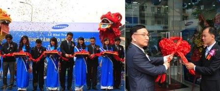 Lễ khai trương Samsung CSP tại Hà Nội và tại Tp.HCM