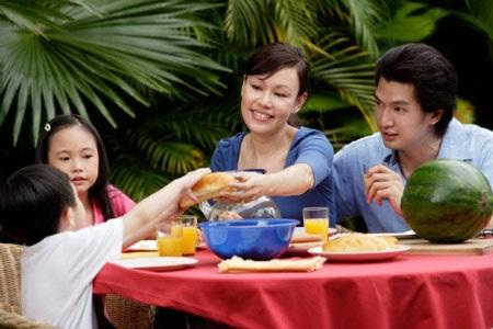 Những bữa cơm gia đình