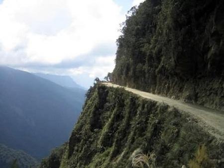 Cung đường North Yungas Road, Bolivia