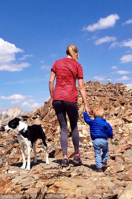 Gia đình đi du lịch cùng chú chó cưng Marley