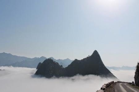 Biển mây trên đỉnh Mã Pì Lèng