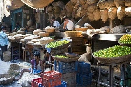 Chợ Bhendi Bazaar Mumbai, Ấn Độ