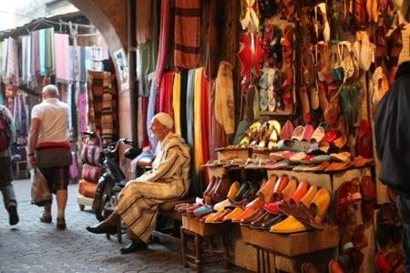 Chợ Souks Marrakech, Ma-rốc