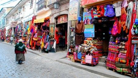Chợ El Alto Open-Air La Paz, Bolivia
