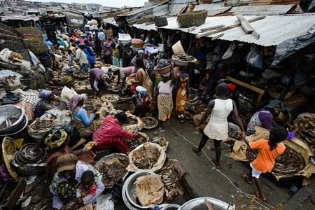Chợ Kejetia ở Kumasi, Ghana