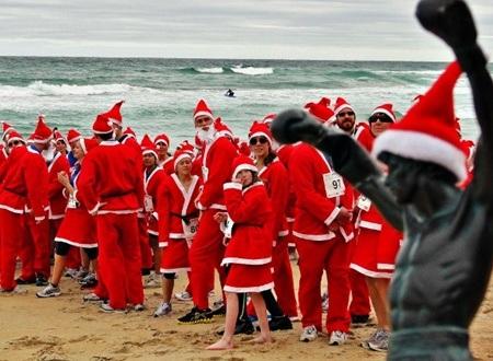 Các ông già Noel ở New Zealand