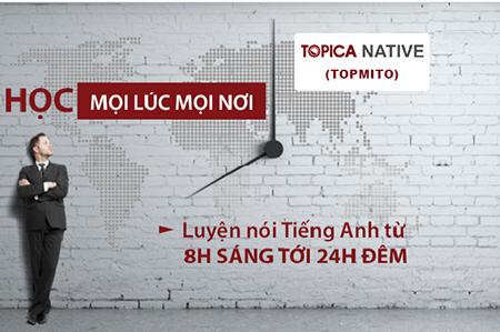 Nhiều học viên của TOPICA Native (Topmito) tăng 300/1000 điểm hội thoại chỉ sau một khoá.
