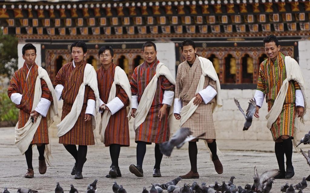 Trang phục Gho dành cho nam giới ở Bhutan