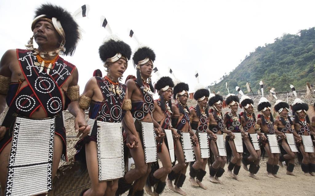 Bộ trang phục cầu kỳ của những bộ lạc vùng Nagaland