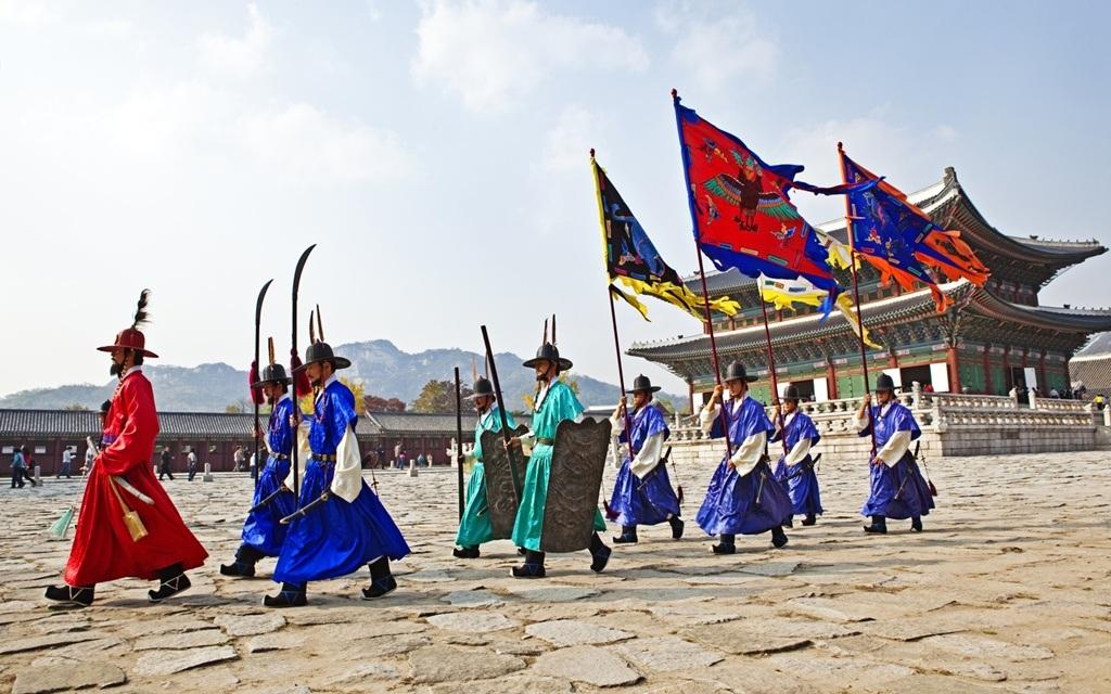Trang phục truyền thống của triều đại Joseon, Hàn Quốc.
