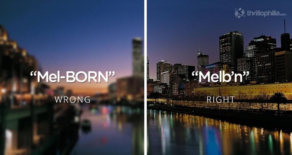 Nhiều địa danh nổi tiếng thường xuyên bị... đọc nhầm tên