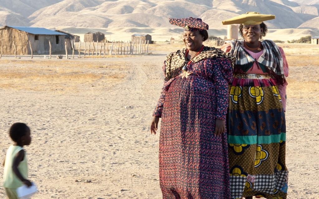 Trang phục truyền thống của phụ nữ Herero, Namibia