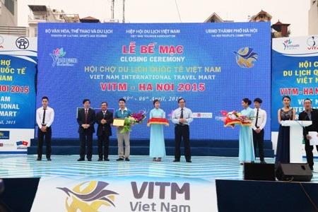 Hội chợ VITM đã khép lại sau 4 ngày sôi động.