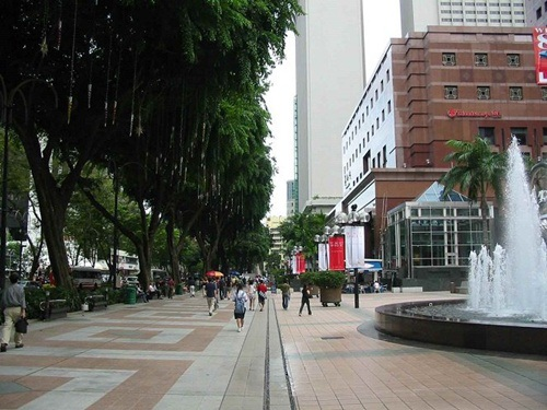 Đường phố Singapore không bóng dáng của rác thải