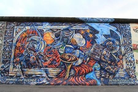 """Bức tường Berlin là """"nhân chứng lịch sử"""" sống động về một giai đoạn thăng trầm nước Đức"""