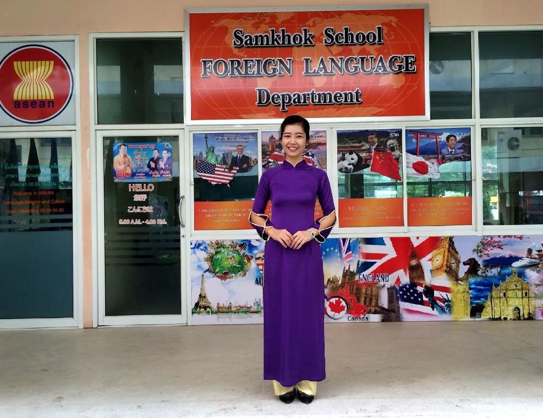 Hồng Lĩnh đã từng có một công việc tốt tại Thái Lan