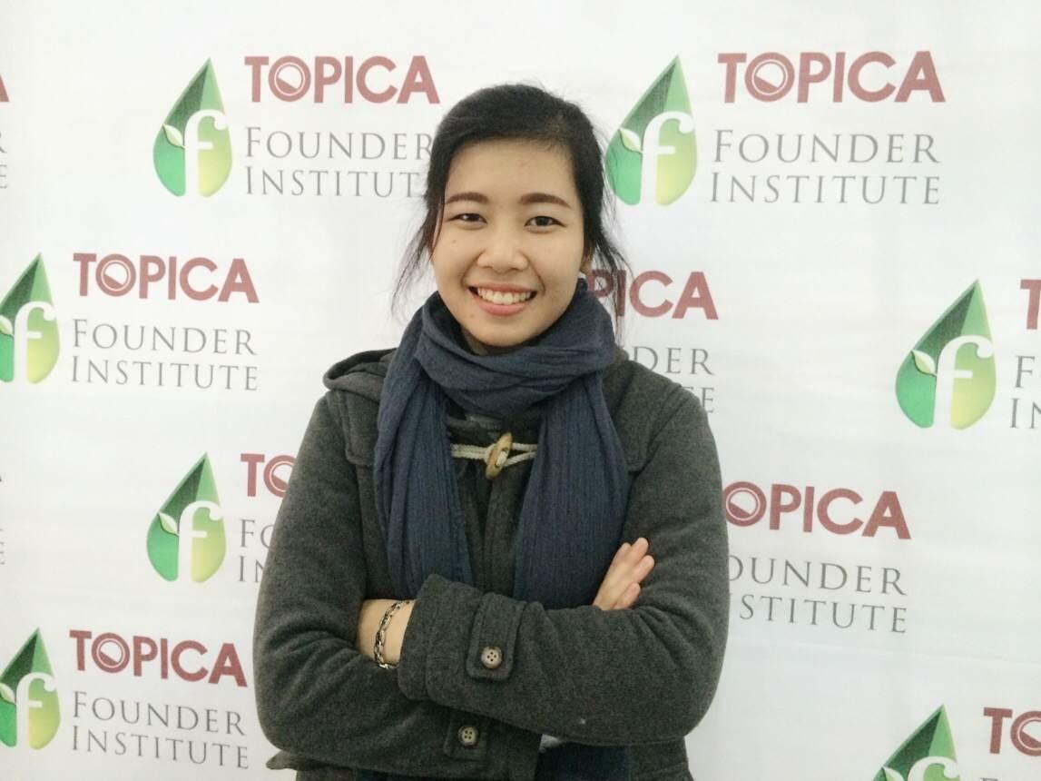 Cô gái 8x xinh đẹp hiện đang làm việc tại Topica Native