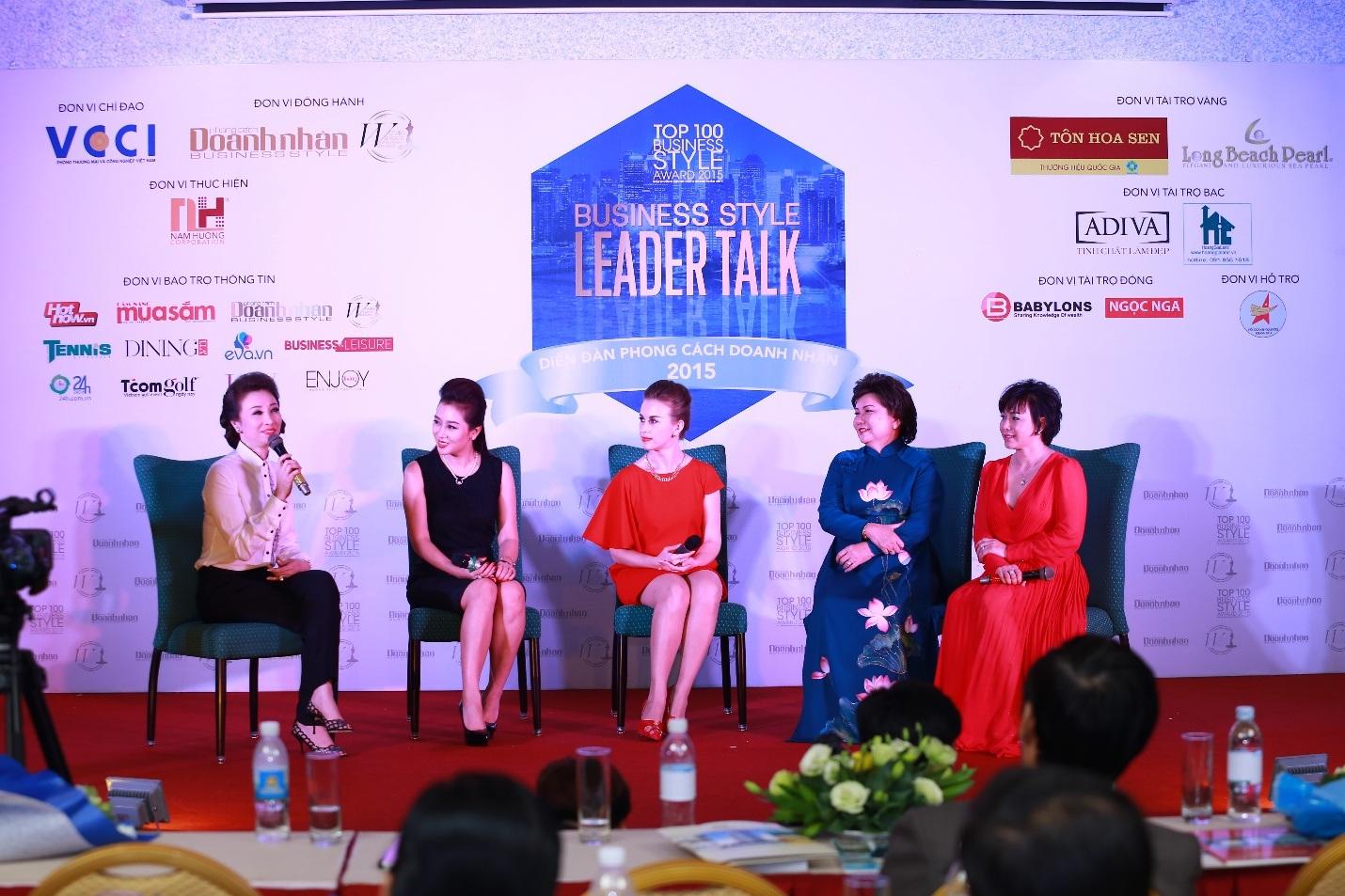 Á hậu Mrs World Thu Hương tổ chức thành công sự kiện Leader Talk tại Nha Trang