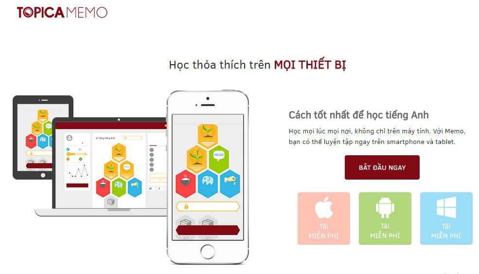 App học tiếng Anh gây sốt trong giới trẻ
