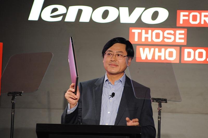 Yang Yuanqing, Tổng Giám đốc kiêm Chủ tịch Hội đồng Quản trị hãng máy tính Lenovo.