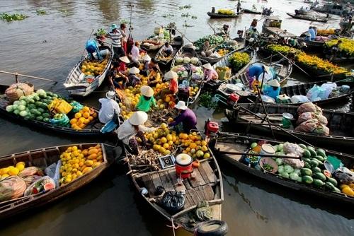 Những cảnh đẹp đốn tim du khách ở xứ gạo trắng nước trong