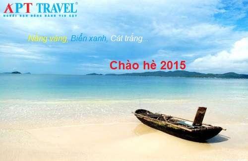Trong dịp hè 2015, APT Travel có rất nhiều tour ưu đãi lớn cho du khách.