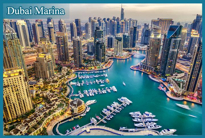 Dubai đẹp hiện đại qua từng góc nhìn